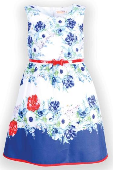 Платье цветочное Desalitto «Sailors»