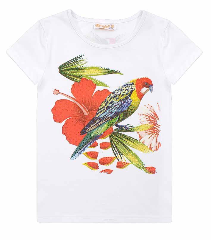 Футболка птицы DeSalitto «Rainbow Birds»
