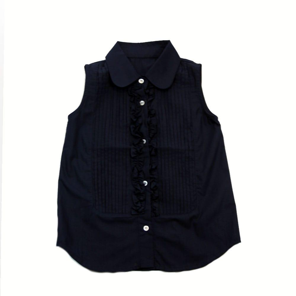 Рубашка без рукавов синяя Desalitto