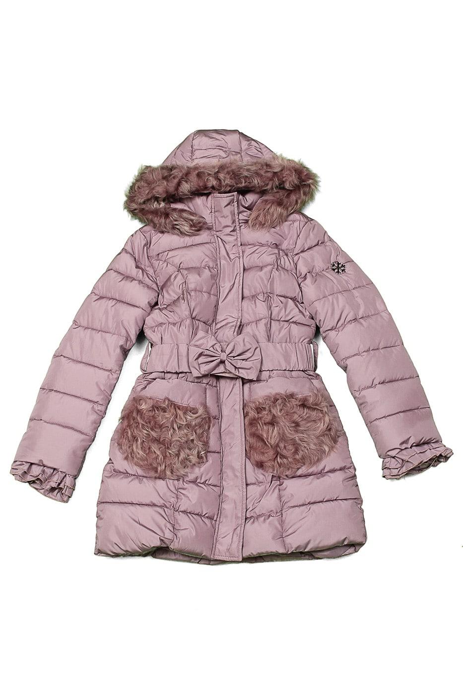 Пальто зимнее с мехом Desalitto