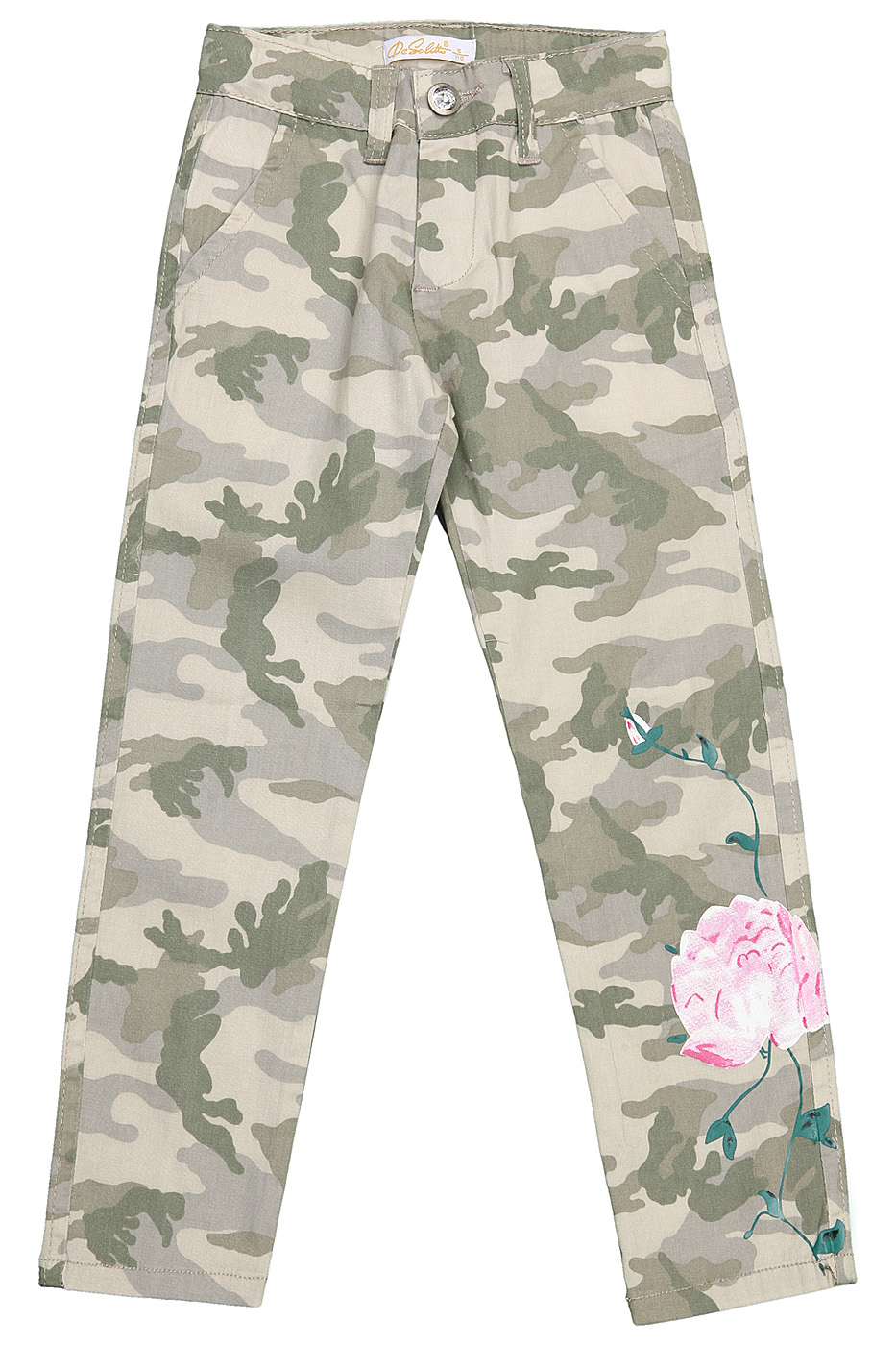 Брюки Desalitto Army Roses