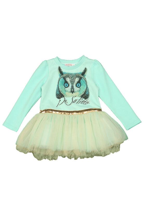 Платье бирюза Snow Owl
