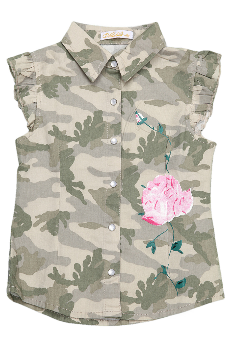 Рубашка Desalitto Army Roses