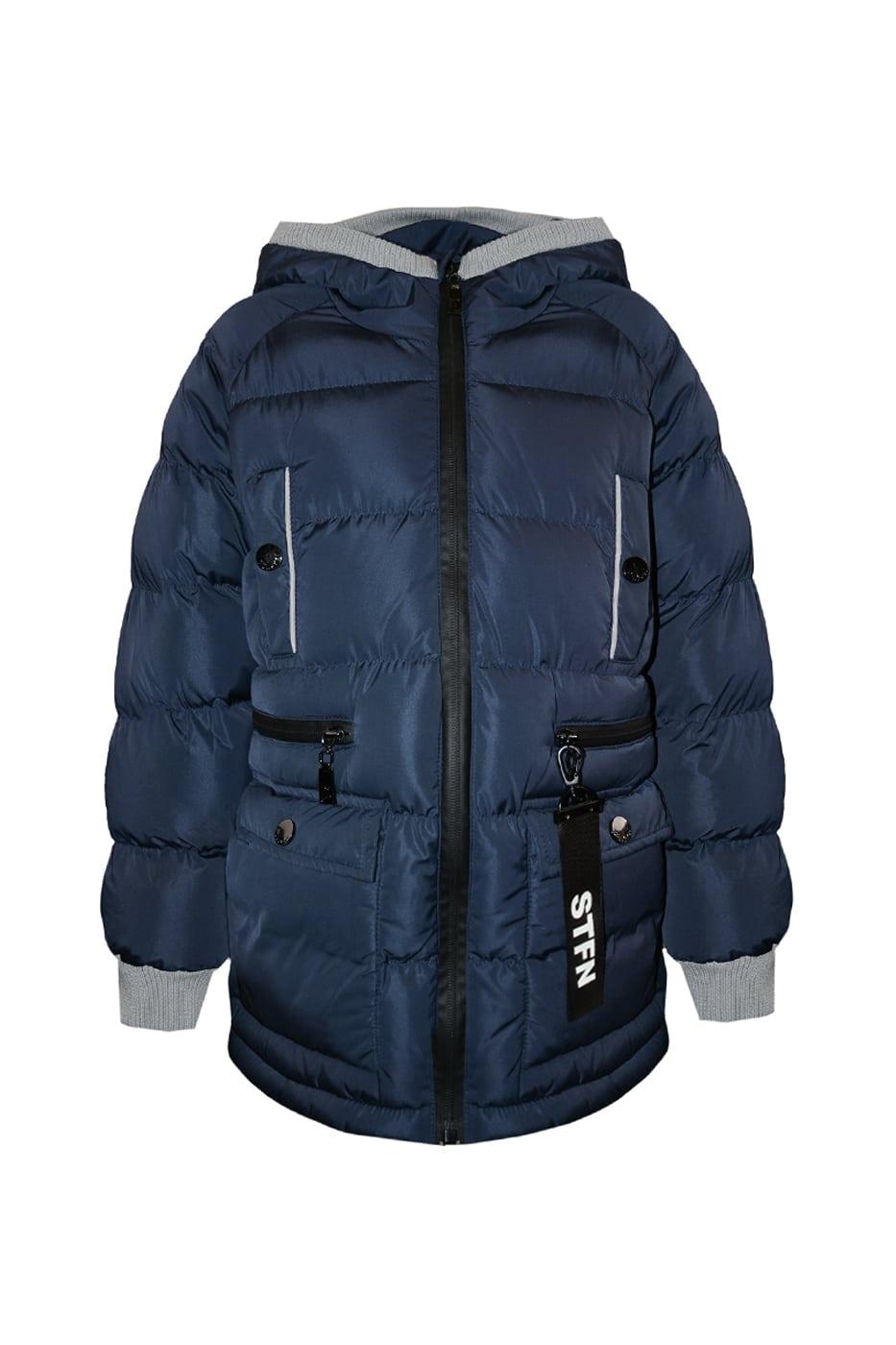 Куртка зимняя синяя Stefania