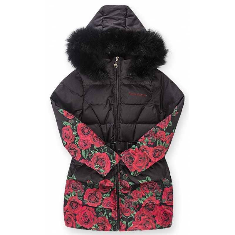 Пальто с розами Desalitto